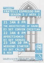 Saptamana #2 @ Fratelli Espresso Bar by GensDuBien
