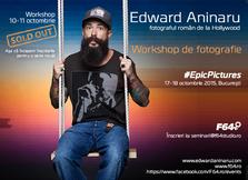 Edward Aninaru a pregatit efecte speciale la workshop-ul #EpicPictures