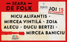 CONCERT: Emotii folk in TRIBUTE Club