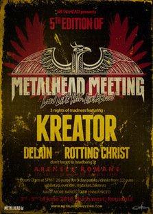 KREATOR si Delain vor canta la festivalul METALHEAD Meeting 2016