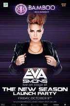 PARTY: Eva Simons @ Bamboo Club