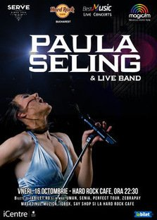 CONCERT: Concert PAULA Seling & Band la Hard Rock Cafe