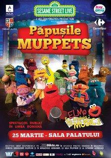 Turneul Muppets se amana pe primavara anului 2016
