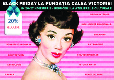 Black Friday la Fundatia Calea Victoriei