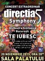 CONCURS: Castiga 2 invitatii duble la concertul Directia 5 - Te iubesc!