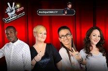Vocea Romaniei - Ce piese au cantat concurentii din #EchipaSmiley in cea de-a doua gala live din 2015 (video)