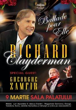 "CONCERT: Richard Clayderman aduce la Bucuresti ""Balade pour elle"""