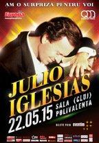JULIO IGLESIAS revine la Cluj cu un concert grandios