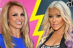 Christina Aguilera o imita pe Britney Spears (video amuzant)