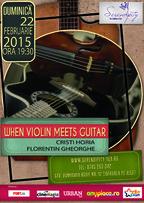 Trupa When Violin Meets Guitar revine la Serendipity