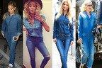 Cine a purtat mai bine ALL DENIM: Jennifer Lopez, Andreea Balan, Gwen Stefani sau Delia?