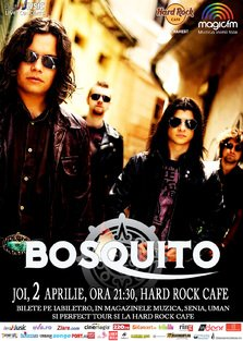 BOSQUITO canta @ Hard Rock Cafe
