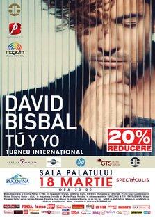 Bilete cu reducere la concertul DAVID BISBAL!