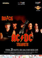 Tribut AC/DC cu THE ROCK la Hard Rock Cafe