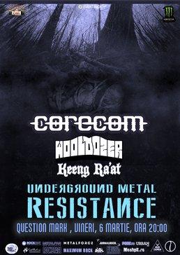 Harder Night la Underground Metal Resistance Fest IV