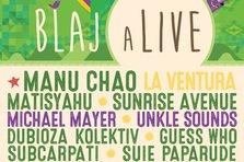 Manu Chao canta la BlajaLive 2015