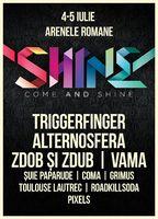Alternosfera, Zdob si Zdub, VAMA si Triggerfinger canta la festivalul SHINE