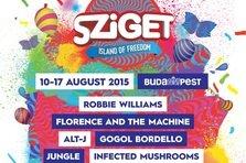 Avicii si Limp Bizkit vin la Sziget Festival 2015