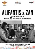 CONCERT: Alifantis & ZAN canta la Hard Rock Cafe