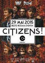 CONCERT: CITIZENS! in concert @ Colectiv