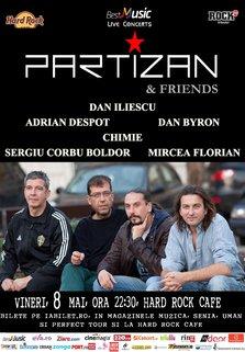 CONCERT: PARTIZAN & Friends canta @ Hard Rock Cafe