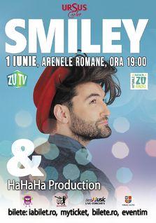 Cine se alatura listei de invitati speciali ai showului Smiley & HaHaHa Production?
