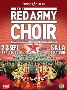 Soldatii rusi cuceresc Romania cu cel mai bun spectacol de muzica si dans din lume