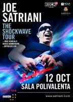 CONCERT: Celebrul chitarist JOE SATRIANI vine la Sala Polivalenta