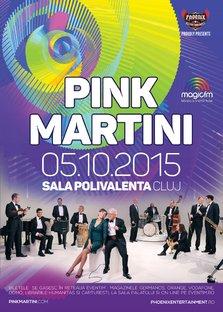 CONCERT: Pink Martini va concerta in inima Transilvaniei