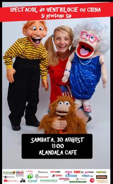EVENT: Spectacol de ventrilocie pentru cei mici @ Alandala