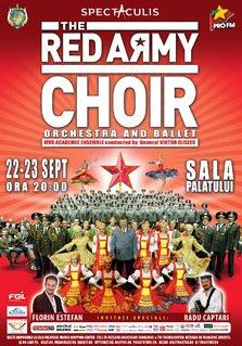 Spectacolul celebrului COR AL ARMATEI ROSII va fi pus in scena la Cluj si Bucuresti