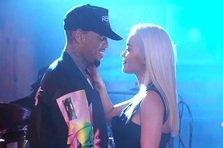Rita Ora feat. Chris Brown -  Body on Me (live@Jimmy Kimmel)