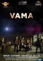 CONCERT: VAMA in concert la Hard Rock Cafe