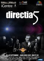 CONCERT: Directia 5 in concert la Hard Rock Cafe