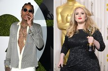 Wiz Khalifa a facut un cover dupa Adele - Hello in stilul sau caracteristic (video)