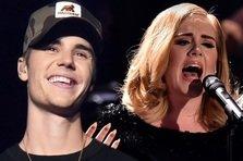 Justin Bieber, mai tare decat Adele!