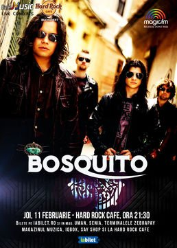 CONCERT: Bosquito @ Hard Rock Cafe