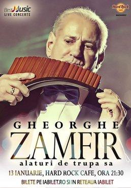 CONCERT: Gheorghe Zamfir @ Hard Rock Cafe