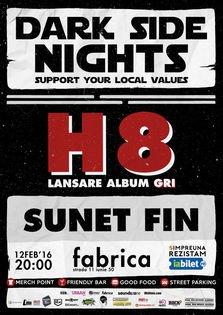 CONCERT: Lansare album H8 - GRI @ fabrica