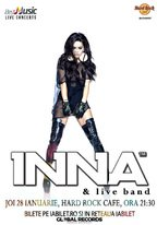 CONCERT: INNA & band @ Hard Rock Cafe