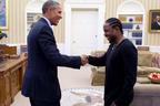 Kendrick Lamar s-a intalnit cu cel mai mare fan al sau: Barack Obama