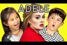 Cum reactioneaza copiii la muzica lui Adele (video)