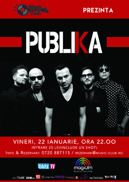 CONCERT: Publika live @ Music Club