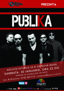 CONCERT: Publika aduce U2 si Depeche Mode @ la Music Club