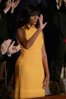 Record la vanzari pentru o rochie purtata de Michelle Obama