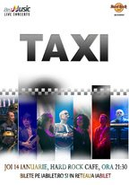 CONCERT: Taxi @ Hard Rock Cafe