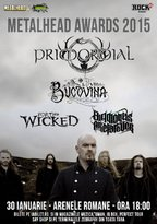 Primordial, Bucovina, DAF si For The Wicked canta la gala METALHEAD Awards