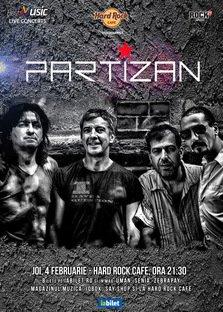 CONCERT: Partizan canta la Hard Rock Cafe