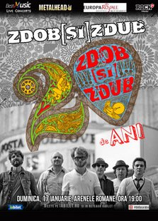 Zdob si Zdub lanseaza un nou videoclip inaintea showului aniversar