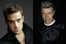 Robbie Williams ii aduce un tribut lui David Bowie (video)